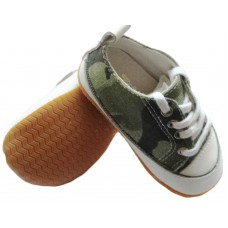 153 camogreen lace rubber sole