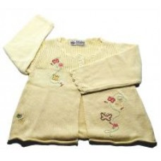 Knit Wear Baby Infant Toddler Butterfly Beige Sweater M