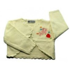 Knit Wear Baby Infant Toodler Ivory Girl Sweater Size