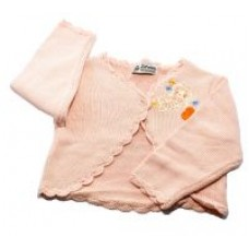 Knit Wear Baby Infant Toodler Pink Girl Sweater Size L