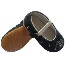 dandelion black rubber sole