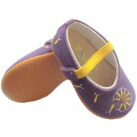dandelion purple rubber sole