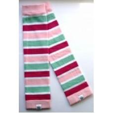 Baby Legs Warmer Stripe Red